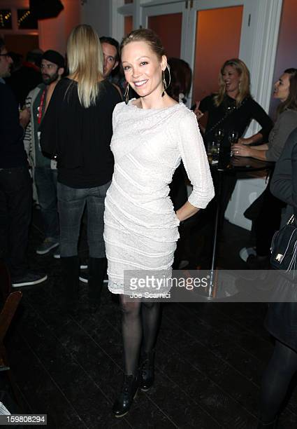 Actress Alexandra Holden attends 'In A World' Dinner on January 20 2013 in Park City Utah