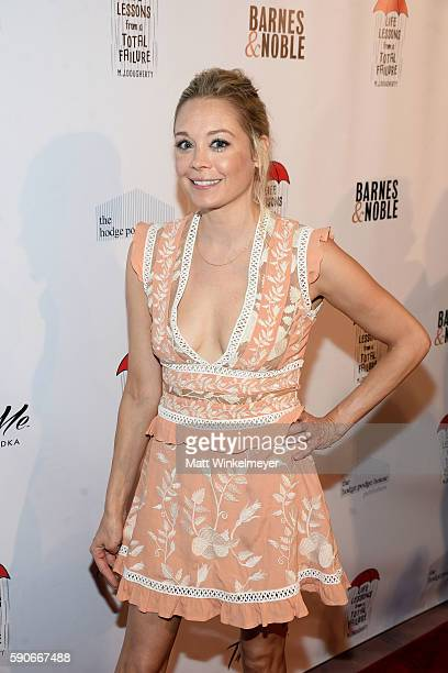 Actress Alexandra Holden attends MJ Dougherty's 'Life Lessons from a Total Failure' book launch party at The Sandbox on August 16 2016 in Los Angeles...