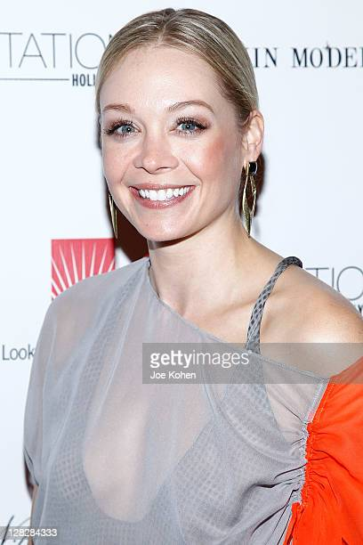 Actress Alexandra Holden attends 'Rock Fashion' Presented By Rockin Models at Station Hollywood at W Hollywood Hotel on October 5 2011 in Hollywood...