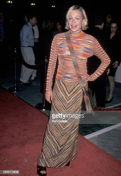 Actress Alexandra Holden attends the 'In Out' Hollywood Premiere on September 17 1997 at the Paramount Theatre Paramount Pictures Studios in...