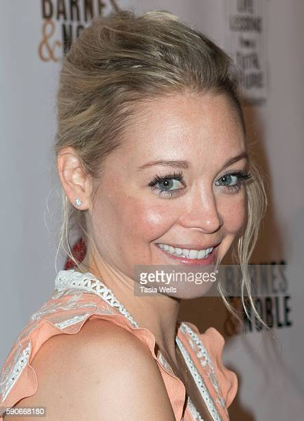 Actress Alexandra Holden attends the launch party for MJ Dougherty's 'Life Lessons from a Total Failure' at The Sandbox on August 16 2016 in Los...