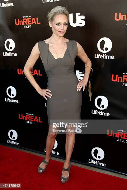 Actress Alexandra Holden attends the Lifetime and Us Weekly cocktail party celebrating series premiere of 'Unreal' held at SIXTY Beverly Hills on May...