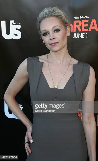 Actress Alexandra Holden attends the 'UnREAL' premiere party hosted by Lifetime and Us Weekly at SIXTY Beverly Hills on May 20 2015 in Beverly Hills...