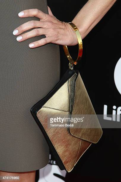 Actress Alexandra Holden hanbag details attends the Lifetime and Us Weekly cocktail party celebrating series premiere of 'Unreal' held at SIXTY...