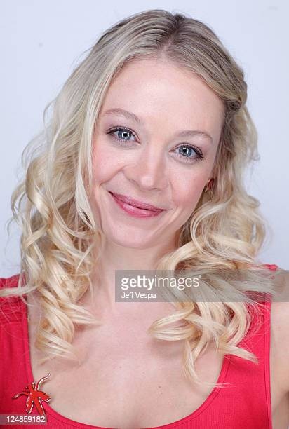 Actress Alexandra Holden of 'Lovely Molly' poses during the 2011 Toronto International Film Festival at the Guess Portrait Studio on September 13...