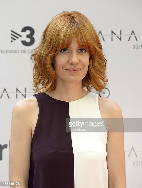 Actress Alexandra Jimenez attends a photocall for 'Anacleto Agente Secreto' at the Gran Melia Fenix Hotel on September 1 2015 in Madrid Spain