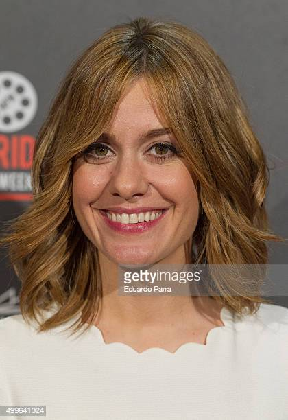 Actress Alexandra Jimenez attends 'Barcelona nit d'hivern' premiere at Callao cinema on December 2 2015 in Madrid Spain