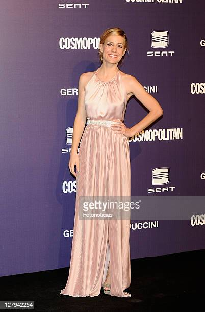 Actress Alexandra Jimenez attends 'Cosmopolitan Fun Fearless Female' Awards 2011 at the Ritz Hotel on October 3, 2011 in Madrid, Spain.