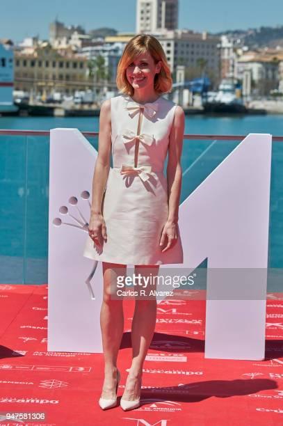 Actress Alexandra Jimenez attends 'Las Distancias' photocall during the 21th Malaga Film Festival on April 17 2018 in Malaga Spain