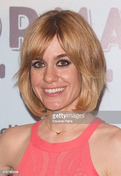 Actress Alexandra Jimenez attends 'Requisitos para ser una persona normal' premiere at Palafox cinema on June 3 2015 in Madrid Spain