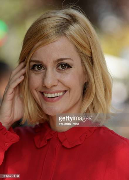 Actress Alexandra Jimenez attends the '100 metros' photocall at Paz cinema on November 2 2016 in Madrid Spain