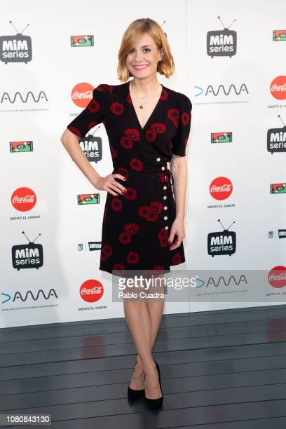Actress Alexandra Jimenez attends the 'Hospital Valle Norte' photocall at Cineteca cinema on December 11 2018 in Madrid Spain