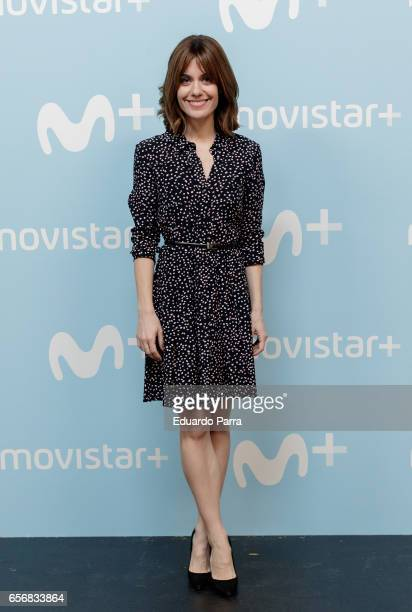 Actress Alexandra Jimenez attends the 'La Zona' photocall at Q17 Studio on March 23 2017 in Madrid Spain