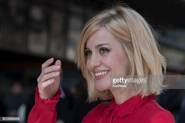 Actress Alexandra Jimenez attends the presentation of the movie quot100 metersquot in Madrid Spain November 2 2016