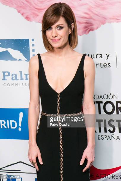 Actress Alexandra Jimenez attends the 'Union de Actores' awards at Circo Price theater on March 12 2018 in Madrid Spain