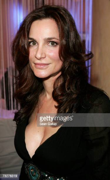 Actress Alexandra Kamp attends the Movie Meets Media Party during the 57th Berlin International Film Festival on February 9 2007 in Berlin Germany