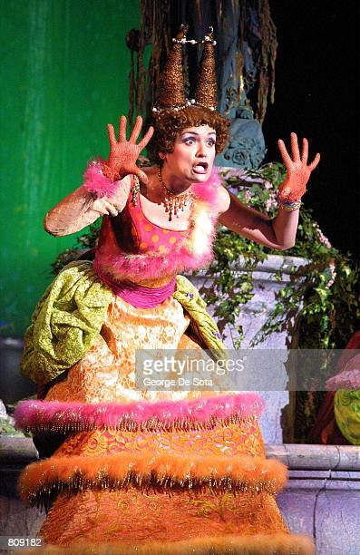 Actress Alexandra Kolb performs as 'Joy' in Rodgers and Hammerstein's 'Cinderella' May 3 2001 at the Theatre at Madison Square Garden in New York City