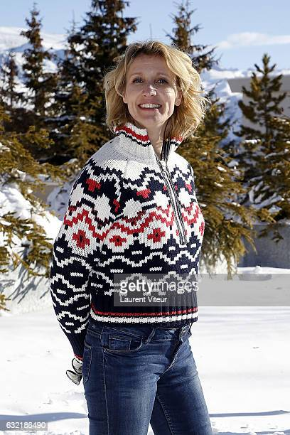 Actress Alexandra Lamy attends 'L'Embarras du Choix' Photocall At Hotel Chamois d'Or on January 20 2017 in Alpe d'Huez France