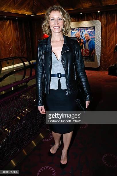 Actress Alexandra Lamy attends the 'Bis' Movie Paris Premiere at Cinema Gaumont Capucine on February 10 2015 in Paris France
