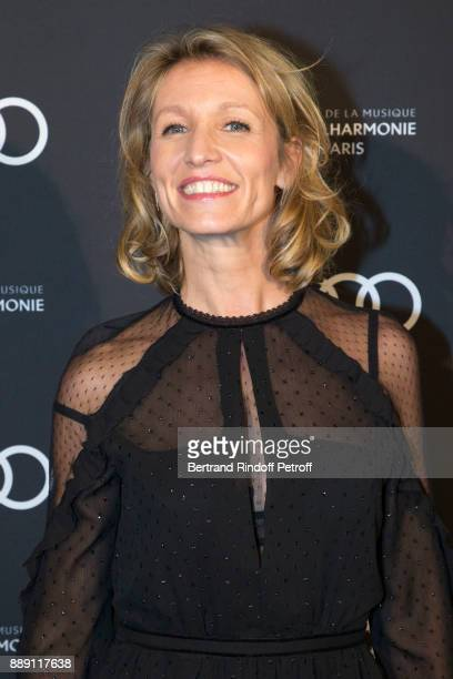 Actress Alexandra Lamy attends 'The Celebration of Gabriel Yared 's Film Music' at Philharmonie De Paris on December 9 2017 in Paris France