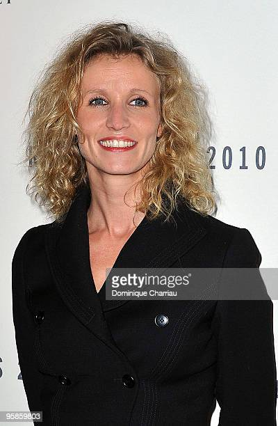 Actress Alexandra Lamy attends the Chaumet's cocktail party for Cesar's Revelations on January 18 2010 in Paris France