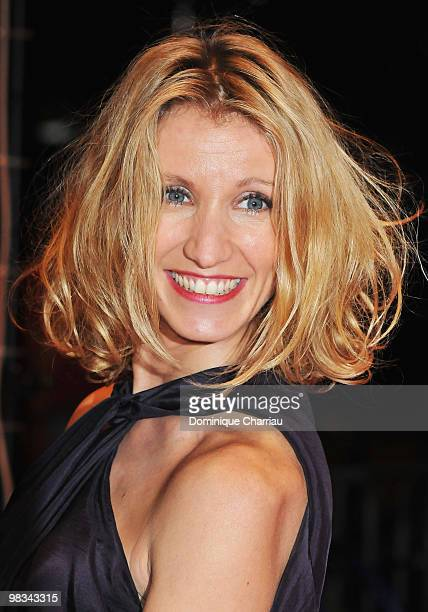 Actress Alexandra Lamy attends the 'Ricky' premiere during the 59th Berlin International Film Festival at the Berlinale Palais on February 6 2009 in...
