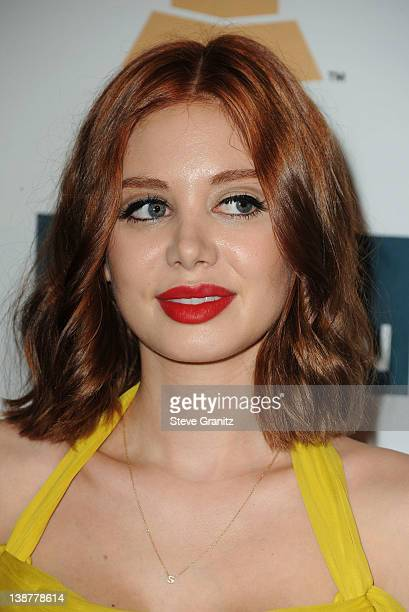 Actress Alexandra Lenas arrives at Clive Davis and The Recording Academy's 2012 PreGRAMMY Gala and Salute to Industry Icons Honoring Richard Branson...