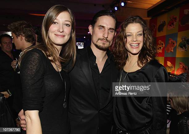 Actress Alexandra Maria Lara actor Clemens Schick and actress Marie Baeumer attend the launch party for Thomas Sabo's Sterling Silver collection S/S...