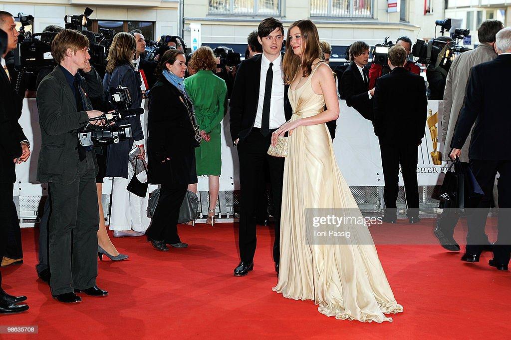 Actress Alexandra Maria Lara And Husband Actor Sam Riley Attend The