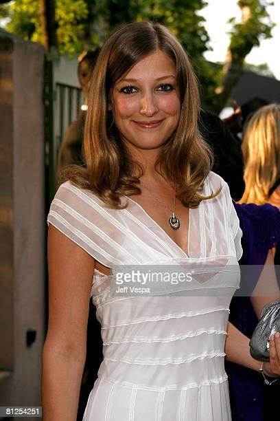 Actress Alexandra Maria Lara arrives at amfAR's Cinema Against AIDS 2008 benefit held at Le Moulin de Mougins during the 61st International Cannes...