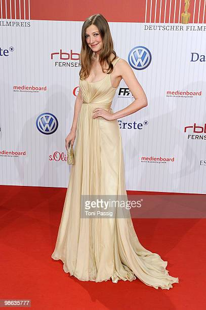 Actress Alexandra Maria Lara attends the 'German film award 2010' at Friedrichstadtpalast on April 23 2010 in Berlin Germany