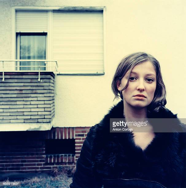 Actress Alexandra Maria Lara is photographed for Zoo Magazine on April 15 2004 in Berlin Germany