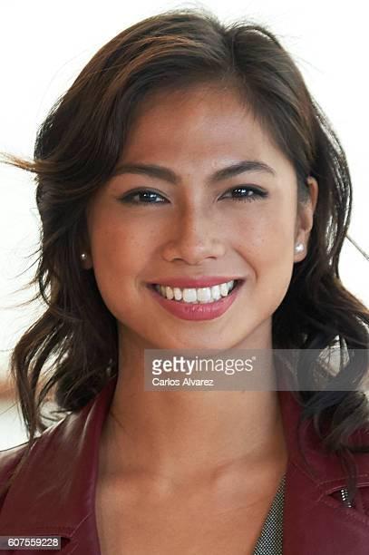Actress Alexandra Masangkay attends Los Ultimos de Filipinas photocall during 64th San Sebastian Film Festival at Kursaal Palace September 18 2016 in...