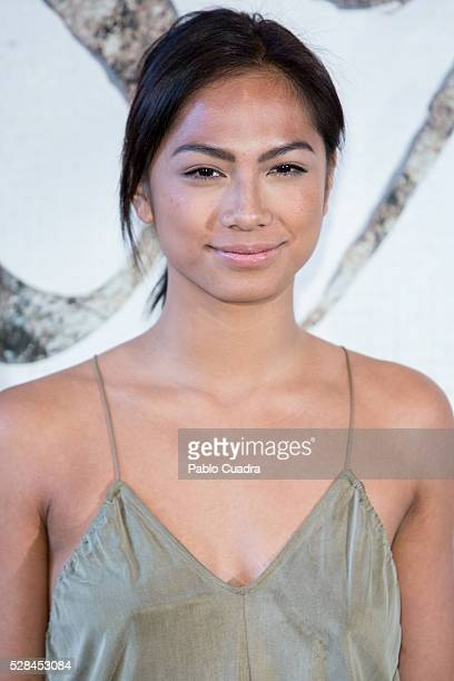 Actress Alexandra Masangkay attends the '1898 Los Ultimos De Filipinas' photocall at the Room Mate Hotel on May 05 2016 in Madrid Spain