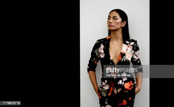 Actress Alexandra Masangkay poses for portrait session at Sitges film festival 2019 on October 08 2019 in Sitges Spain
