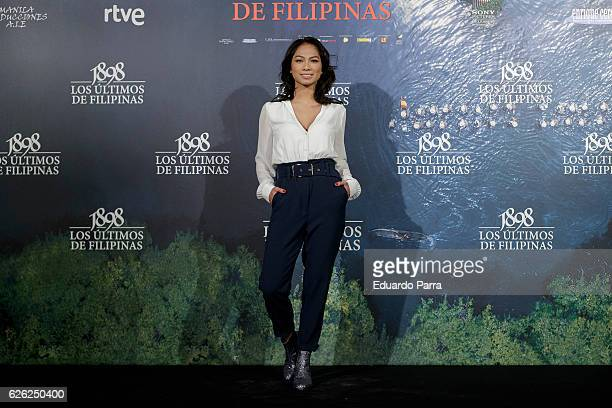 Actress Alexandra Masngkay attends the '1898, Los Ultimos De Filipinas' photocall at the Naval Museum on November 28, 2016 in Madrid, Spain.