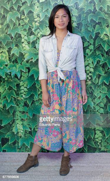 Actress Alexandra Masngkay attends the 'Intropia rummage sale' photocall at Puerta de America hotel on May 3 2017 in Madrid Spain