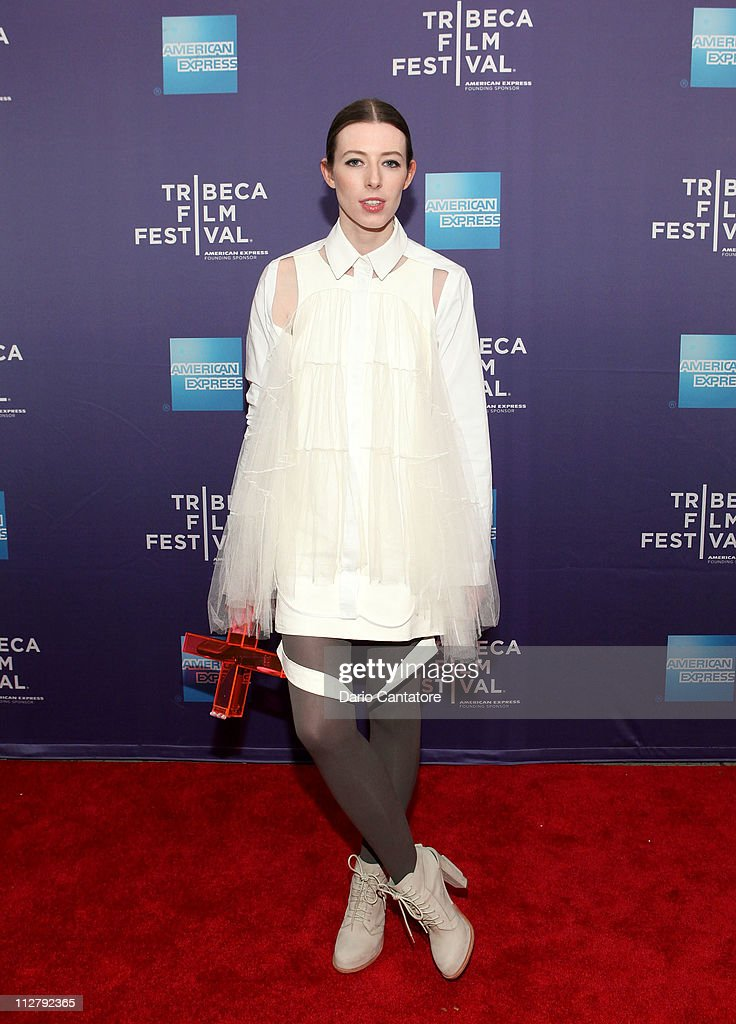 Actress Alexandra McGuinness attends the premiere of 'Lotus Eaters' during the 2011 Tribeca Film Festival at SVA Theater on April 21, 2011 in New York City.