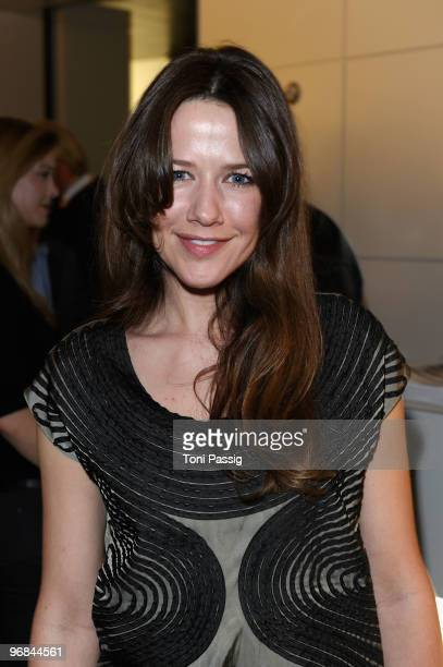 Actress Alexandra Neldel attends the 'Next Generation' reception during day eight of the 60th Berlin International Film Festival at the Golden Bear...