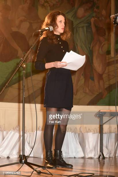 Actress Alexandra Oppo attends the Poesie En Liberté 2019 Awards Ceremony At Mairie Du 5eme on November 23 2019 in Paris France