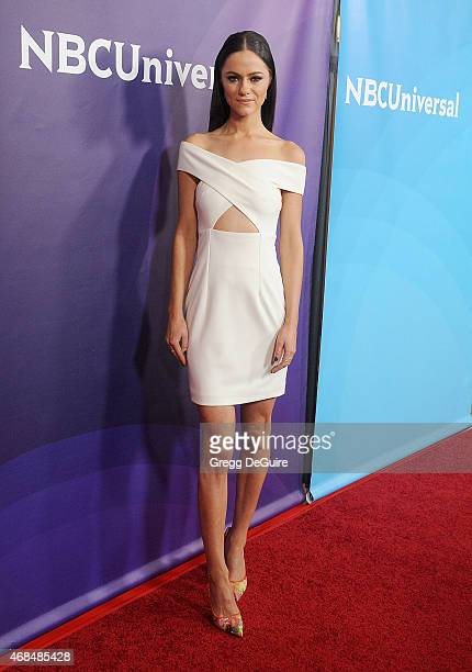 Actress Alexandra Park arrives at the 2015 NBCUniversal Summer Press Day at The Langham Huntington Hotel and Spa on April 2 2015 in Pasadena...