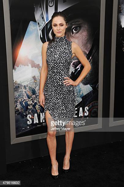 Actress Alexandra Park arrives at the 'San Andreas' Los Angeles Premiere at TCL Chinese Theatre IMAX on May 26 2015 in Hollywood California