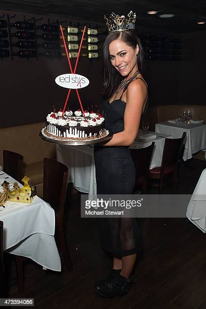 Actress Alexandra Park attends her birthday party at Red Stixs on May 14 2015 in New York City