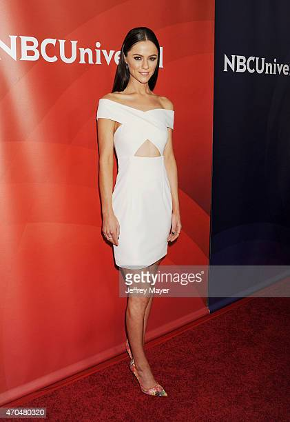 Actress Alexandra Park attends the 2015 NBCUniversal Summer Press Day held at the The Langham Huntington Hotel and Spa on April 02 2015 in Pasadena...