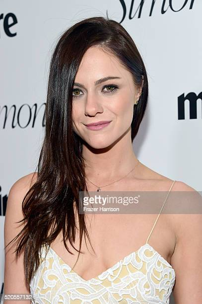 Actress Alexandra Park attends the 'Fresh Faces' party hosted by Marie Claire celebrating the May issue cover stars on April 11 2016 in Los Angeles...