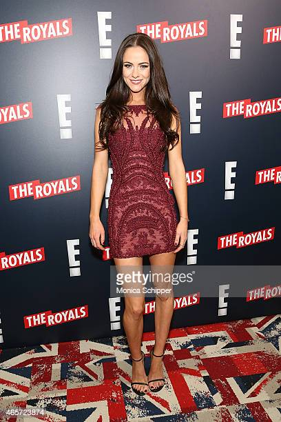 Actress Alexandra Park attends 'The Royals' New York Series Premiere at The Standard Highline on March 9 2015 in New York City