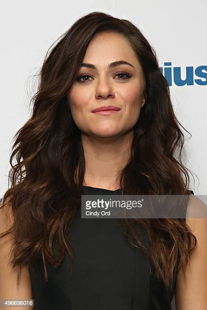 Actress Alexandra Park visits the SiriusXM Studios on November 11 2015 in New York City