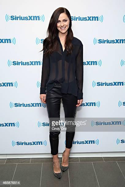 Actress Alexandra Park visits the SiriusXM Studioson March 11 2015 in New York City