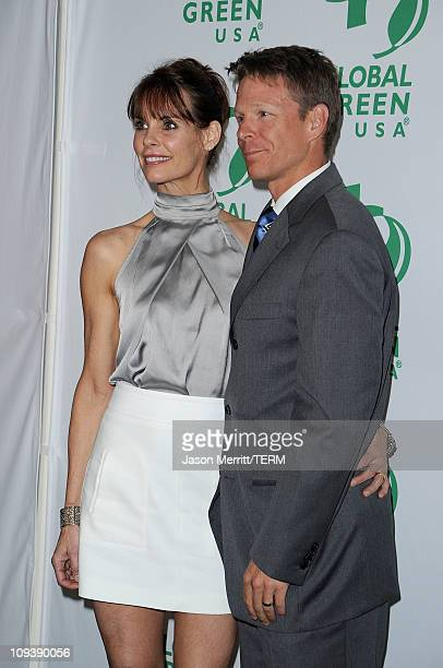 Actress Alexandra Paul and husband Ian Murray arrive at Global Green USA's 8th annual preOscar party Greener Cities For A Cooler Planet held at...