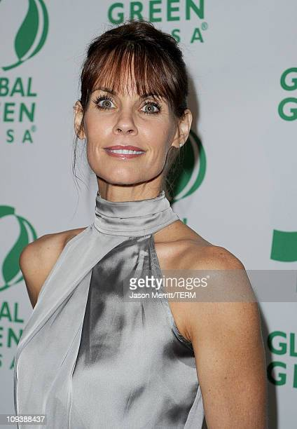 Actress Alexandra Paul arrives at Global Green USA's 8th annual preOscar party Greener Cities For A Cooler Planet held at Avalon on February 23 2011...